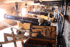 HMS Victory Upper Gun Deck (7) (NTG's pictures) Tags: portsmouth historic naval dockyard hms victory lord nelson flagship trafalger