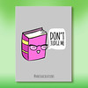 No judging! (Anisha_Creations) Tags: funny cute silly book geek nerd kawaii adorable cartoons literature books stories tales fantasy fun cuteness glasses smart no judge judgement happy positive vibes library doodles character silliness puns quotes movies films school ink pink haters read reading intellectual wise wisdom hipster