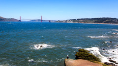 Watching the Golden Gate (paul.bernier) Tags: sanfrancisco us usa golden bridge ocean landscape blue