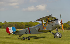 Nieuport 17 (Kev Gregory (General)) Tags: timeline events sunset night shoot stow maries great war aerodrome maldon essex world one wwi raf rfc royal flying corp air force sqn squadron biplane aircraft aeroplane historic kev gregory canon 7d fighter bomber english german allied axis nieuport 17 corps