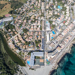 Aerial Photography of Can Picafort