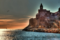 Portovenere (Tizi@no56 (off)) Tags: sunset sea sky church backlight clouds reflections landscape fisherman tramonto nuvole mare seagull chiesa cielo portovenere riflessi paesaggio gabbiano controluce pescatore sailingboat barcaavela d5200 nikond5200 rememberthatmomentlevel4 rememberthatmomentlevel1 rememberthatmomentlevel2 rememberthatmomentlevel3 rememberthatmomentlevel9 rememberthatmomentlevel5 rememberthatmomentlevel6 rememberthatmomentlevel10