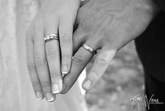 Ring Ring (B&W) (KerriNikolePhotography) Tags: wedding blackandwhite groom bride nikon hand marriage ring nails santaynez countrywedding nikond3000 kerrinikolephotography