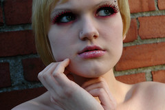 15 (RebeccaLynnPhotography8) Tags: pink portrait female photoshop makeup cannon expressive editing piercings artistry