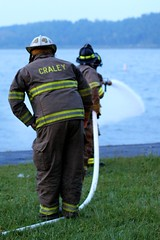 Craley Fire Department (WabbyTwaxx) Tags: training fire junior fighters department firefighters craley