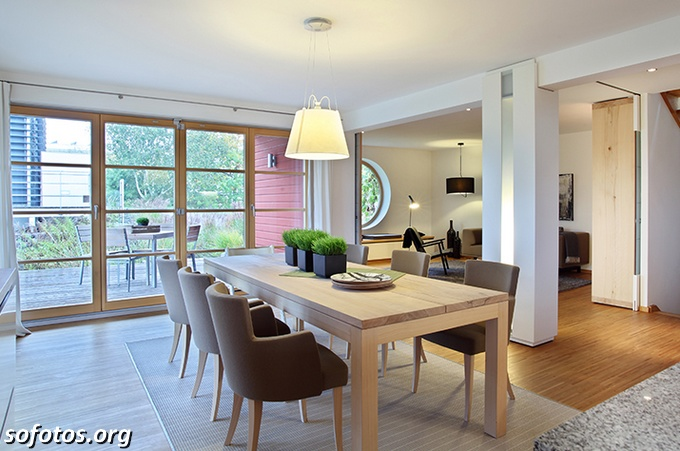 Salas de jantar decoradas (95)