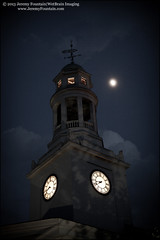 Moonset Concord (jeremy.fountain) Tags: moon church ma clocktower concord unitarianuniversalist firstparishinconcord middlesexcountyma