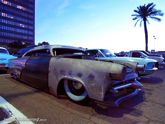 Overworked-Underpaid (Swanee 3) Tags: ford phoenix central 1954 chopped custom shoebox airbags customline ledsled