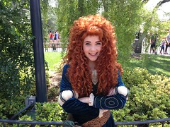 Merida (dmorg888) Tags: disneyland disney merida pixar brave facecharacter snowwhiteswishingwell