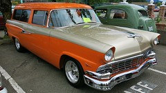 1956 Ford Custom Ranch Wagon (Custom_Cab) Tags: ranch door 2 two ford station wagon 1956 custom tone mainline customline