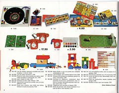 Epis DOr 1969 p8 (Rebecca's Collections) Tags: 1969 toy toys football 60s stamps farm telephone games blocks coop 1960s ark catalogue noahs abacus paints noahsark buildingblocks timbres