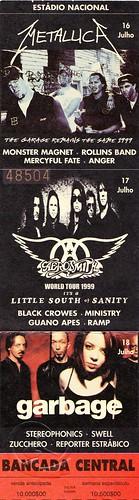19990716-18 Metallica / Aerosmith / Garbage