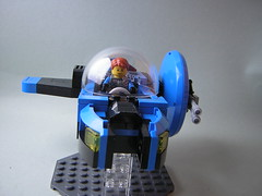 Space Police Hunter (2) (Dead Frog inc.) Tags: fiction classic ship lego space science retro spaceship spacecraft moc poilce