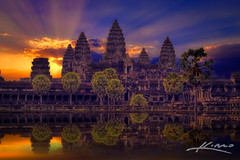 Sunrise-at-the-Angkor-Wat-Temple-in-Siem-Reap-Cambodia