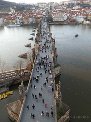 Charles Bridge from the Bridge Tower (Bri_J) Tags: prague charlesbridge bridgetower