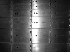 050 (bwiggins55) Tags: white black bank vault safe woolworthbuilding safedepositbox