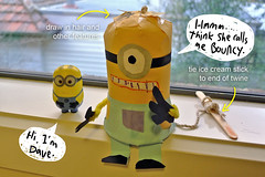 Minion (bigbrownmonster) Tags: party monster daddy fun toy design education child handmade creative craft parent homemade gift kawaii handcrafted 创意 recycle ideas 爸爸 儿童 preschooler 子供 父 手工 可爱 minion かわいい 设计 幼稚園 回收 デザイン ハンドメイド 亲子 stayathome 楽しみ ギフト 乐趣 怪兽 モンスター テール 手製 子分 despicableme 自创 bigbrownmonster wilkietan 手作りされる リサイクルしなさい 小黄人