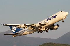 Polar Air Cargo 747-400F | Hong Kong Chek Lap Kok Airport (Kevin Ho  Photography) Tags: sunset hk hub asia air cargo hong kong international boeing polar 747 pac freighter 747400 744 747400f