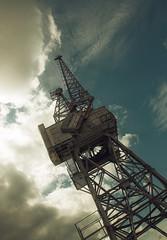 Mega Crane (2create) Tags: old london docks crane canarywharf