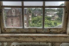 Mayfield House (IanC83) Tags: old school windows urban broken hospital death bed peeling paint rooms beds decay pillows creepy walker abandon forgotten asylum lead vandals graffti collapsed urbex retireds pennhurst