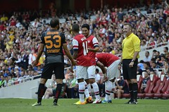 Arsenal - Galatasaray (Michael Hulf Photography) Tags: cup 4th august emirates 12 galatasaray arsenal 2013