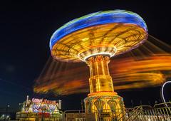 Take me for a spin (Dan Haug) Tags: fair carnival ottawa rcr rideaucarletonraceway swing august 2013 ef1635mmf28liiusm canon eos night explored explore