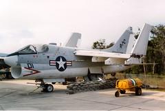 "153135 Vought A-7C Corsair II c/n A-044 'RTC01' NARTC ""Apprentice Training"" (eLaReF) Tags: 153135 vought a7c corsair ii a044 rtc01 nartc apprenticetraining cn sluf"