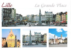FR-313154 001 (Iridale) Tags: plaza france place postcrossing postcards piazza lille francia cartoline placedugeneraldegaulle fr313154