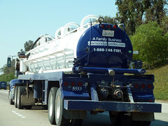 Tanker Truck (Photo Nut 2011) Tags: california truck sandiego diamond freeway tanker