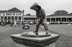 USkidsgolf2013 (lifecameracreation) Tags: travel 2 summer usa sports statue golf nc community weekend famous northcarolina professional southern tournament golfcourse countryclub fairway amateur clubhouse golfer pinehurst southernpines putterboy uskidsworld