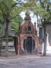 Montmartre cemetery, Paris (Chelsea 101) Tags: paris france monument cemetery graveyard death tomb montmartre burial 1825