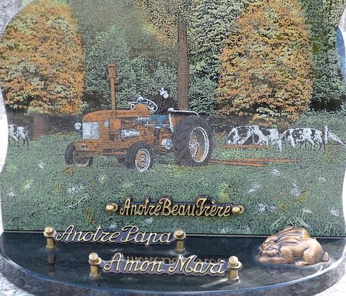 Tracteur en automne