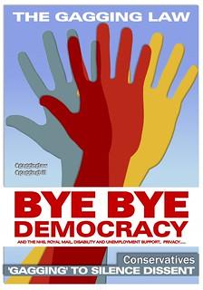 Gagging Democracy, From ImagesAttr