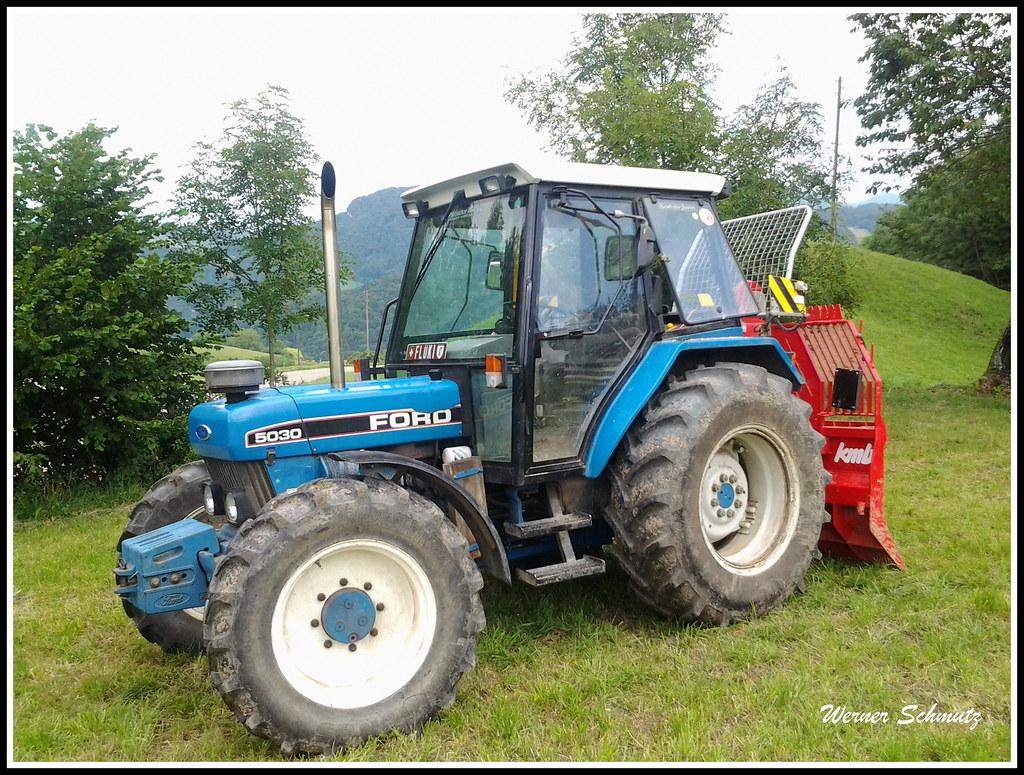 Ford 5030 Allrad (Werner_Schmutz) Tags: tractor ford traktor 4x4 tracteur  fourwheeldrive trattore seilwinde