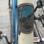 Kone ja Terä Jaguar (Finland) bicycle head badge logo thumbnail