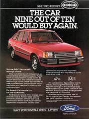 1983 Ford Escort Sedan