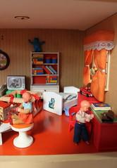 Extra storey Lundby Gotheburg (*blythe-berlin*) Tags: orange vintage göteborg toys furniture gothenburg 70s möbel byebye spielzeug dollhouse puppenhaus lundby cacodolls biegepuppen doll´shouse 70zigerjahre