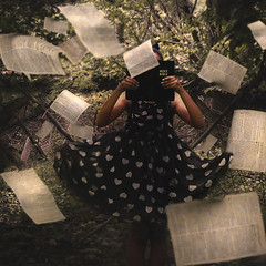 Trees of Knowledge (Yvonne Palkowitsh) Tags: photography fineart yvonne polka dot bible conceptual whimsical palkowitsh