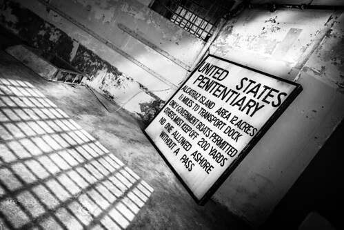 Old Alcatraz Sign