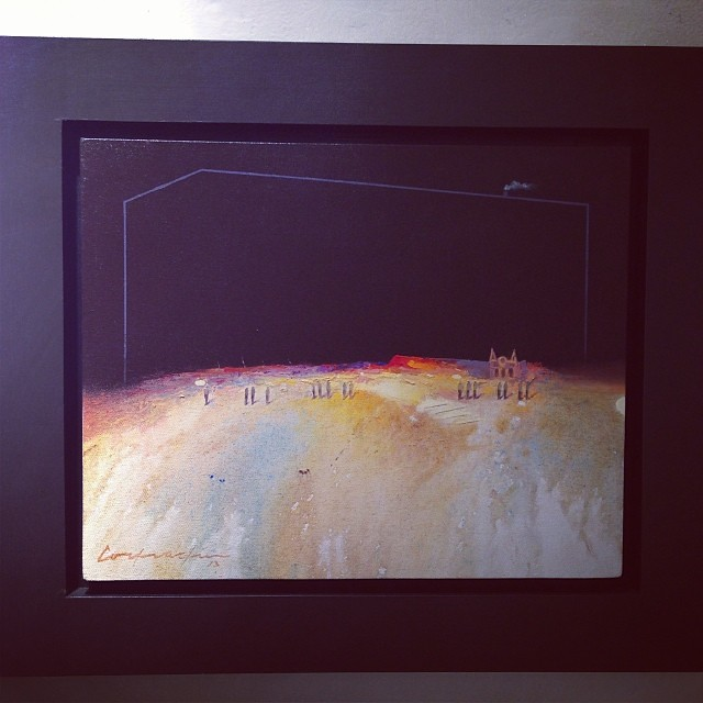 "Eduardo Cochachín • ""Colectiva de Fin de Año"" #art #arte #artinlima #arteenlima #gallery #galeria #brunogallery #muestra #artist #artista #pintura #painting"