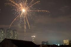 New Year's Eve 2013-2014 (Marvyn Hendrata) Tags: christmas new holiday night work canon indonesia happy fire shot fireworks year firework celebration jakarta works merry api tahun baru 6d kembang 24105l 2013 petasan