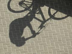 Sombra 2 (Shadow 2) (Raupegoncalves) Tags: shadow bike bicicleta sombra bicicle pedal