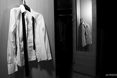 Party's over (A.V.Photos) Tags: b party bw white black home shirt night w tie