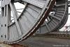 Zwaar ijzerwerk (1) (Maurits van den Toorn) Tags: bridge nail pont antwerp brug brücke antwerpen anvers basculebrug klinknagel scherzerbridge scherzerbrug