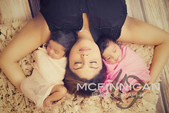 TWiNS (McFinnigan Photography) Tags: girls love twins mother together newborn