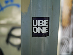 8 (1 of 1) (ube1kenobi) Tags: streetart art graffiti stickers urbanart stickertag ube sanfranciscograffiti slaptag newyorkgraffiti losangelesgraffiti sandiegograffiti customsticker ubeone ubewan ubewankenobi ubesticker ubeclothing