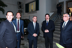 Recepção do Partido Popular Espanhol na Sede Nacional