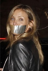 cameron diaz tapegag (Dexter_leather81) Tags: leather fake cameron gagged tapegag