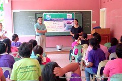 'Mabaga Stove' product training in the Philippines (GoodReturn.org) Tags: charity community education asia pacific philippines stove development sustainability microfinance biomass good