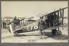 'India Office Official Record of the Great War'. - caption: 'The eyes of the army - Sopwith Camels ready for a patrol over the German lines. View of aircraft and pilot. 1915.'